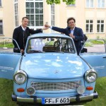 Tom Hanks becomes the owner of a Trabant!