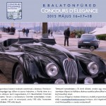 Invitation to 2nd Balatonfüred Concours d'Elegance