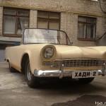 Hadi-2, a fibreglass bodied sportscar from Ukraine