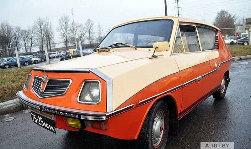 Fantasy, a Belorussian self-made car is for sale
