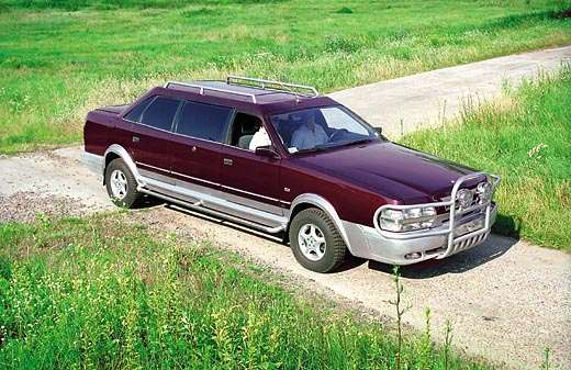 Unique Ukrainian limousine is up for sale