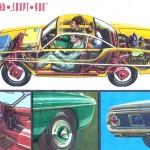 KD / Sport-900 (1963-1969): Sports coupe with fibreglass bodywork