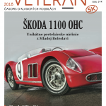 Introduction to a monthly Slovakian magazine about Historic vehicles – Veteran SK